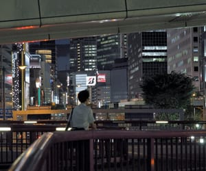 aesthetic, japan, and night image