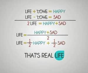 life, happy, and sad image
