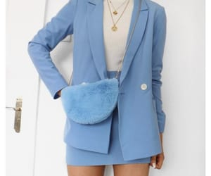 fashion, blue, and clothes image