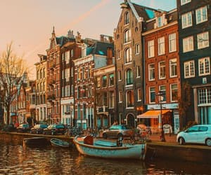 amsterdam, boat, and photo image