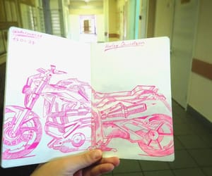 drawing, scetch, and moto image