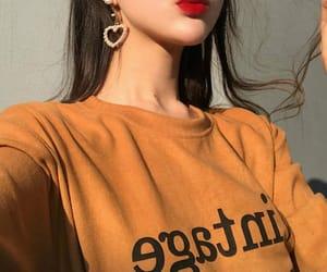 earrings, fashion, and korean image