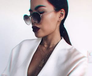dark lips, fashion, and sexy image