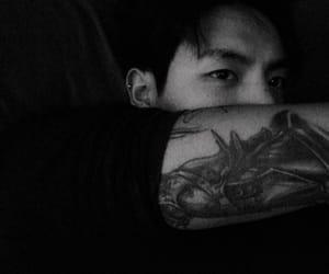 tattoo, ulzzang, and asian image