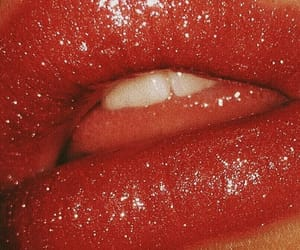lips, red, and aesthetic image