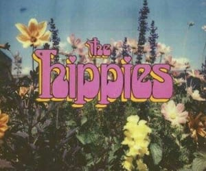 flowers, hippies, and hippie image