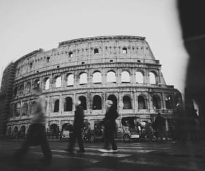 rome, colosseo, and roma image