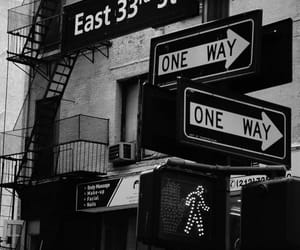 new york, black and white, and black image