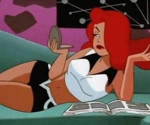 cartoon and poison ivy image
