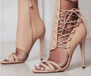 clothes, fashion, and high heels image