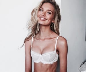 blond, happy, and model image