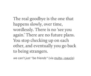 goodbye, life, and quote image