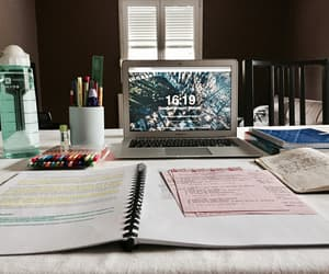 studyblr, book, and college image