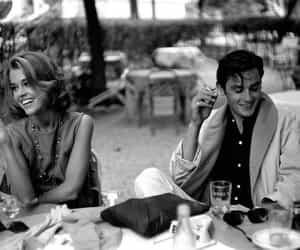 Alain Delon, jane fonda, and couple image