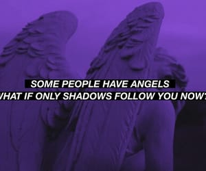 aesthetic, angels, and purple image