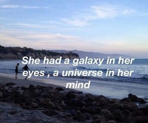 galaxy, mind, and quotes image
