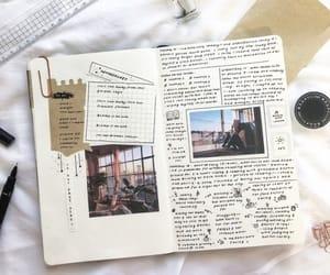 bullet journal, journal, and art image