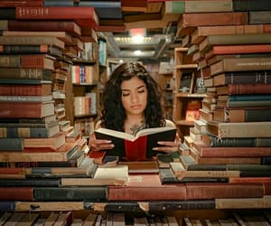 article, books, and bookworm image