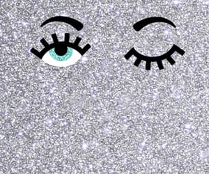eyes, glitters, and wallpaper image