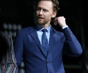 suit, loki, and tom hiddleston image