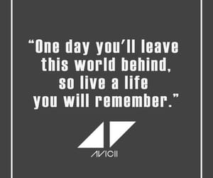 avicii, quotes, and Lyrics image