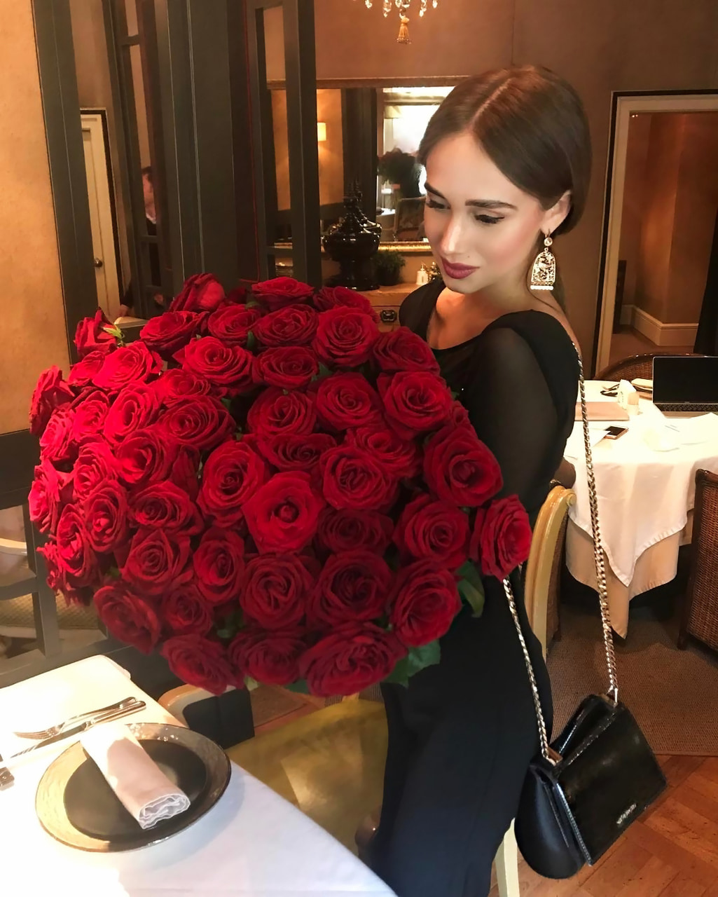 beautiful, flowers, and russian Girl image