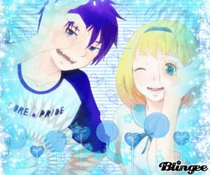 anime, blingee, and ao no exorcist image