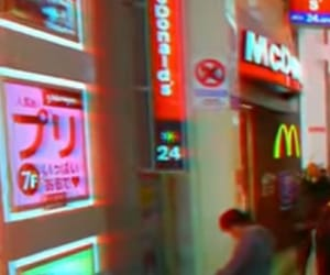 aesthetic, japan, and McDonald's image