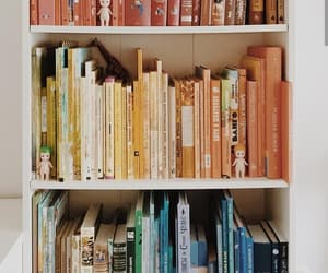 aesthetic, books, and colors image