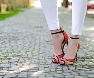 fashion, high heel, and high heels image