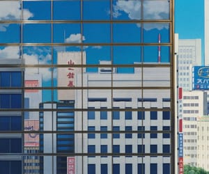 anime, city, and japan image