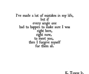 quotes, love, and mistakes image