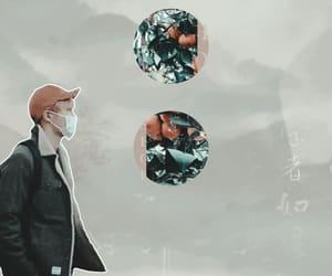 asian, hobi, and pastel edit image