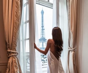 paris, girl, and room image