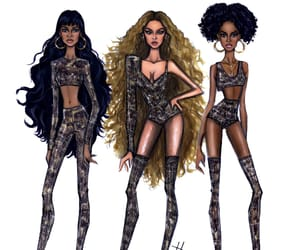 artist, beyonce knowles, and brunette image