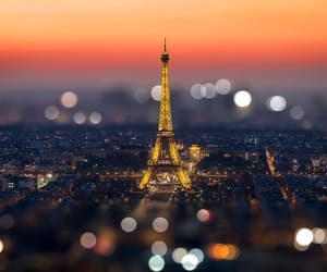 beauty, eiffel tower, and paris image