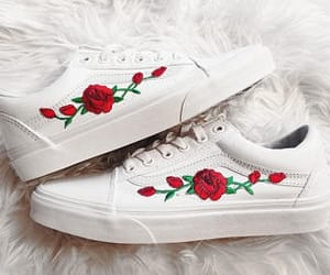 roses, vans, and white image
