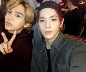 lucas, nct, and taeyong image