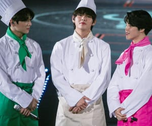 jin, oppa, and tae image