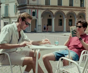 oliver, armie hammer, and timothee chalamet image