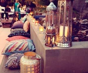 candle, Ramadan, and home image