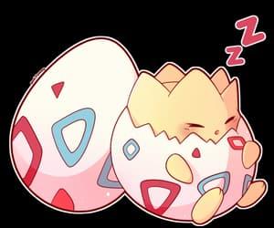 egg, pokemon, and sleep image