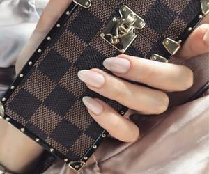 fashion, LV, and nails image