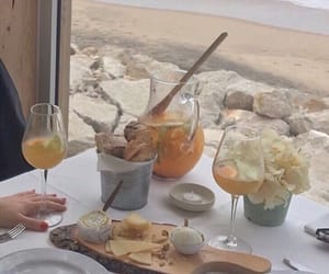 food, aesthetic, and beach image