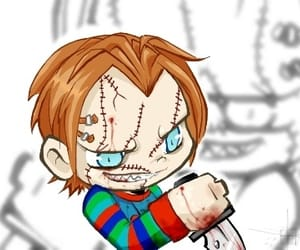 Chucky, horror films, and horror image