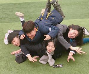 bff, korean, and school image