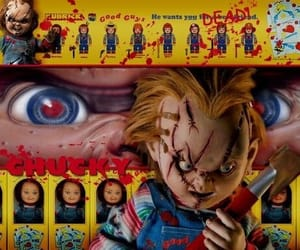 Chucky, horror, and horror films image