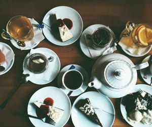 cafe, coffee, and sweets image