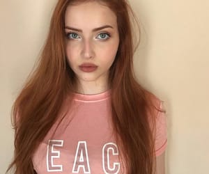 ginger, girls, and hairstyle image