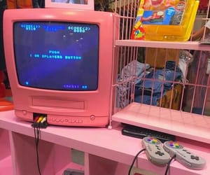pink, game, and 90s image